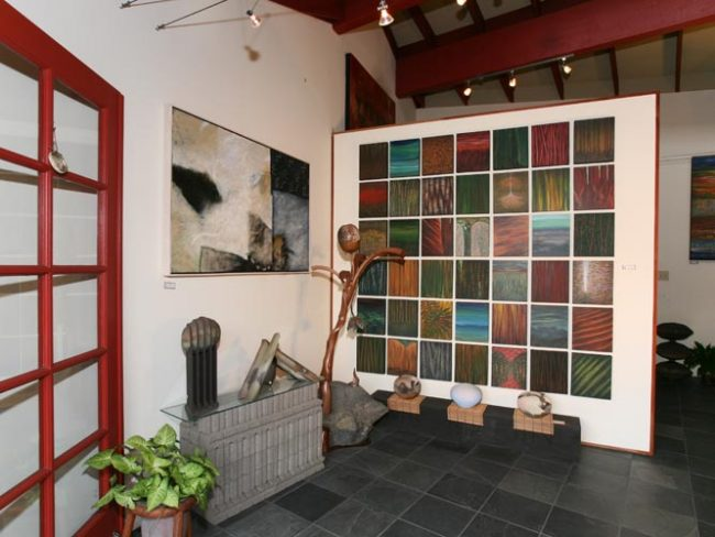 Gallery entry